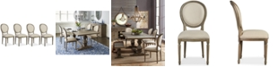 Furniture Tristan Dining Chair Set (4 Side Chairs), Created for Macy's