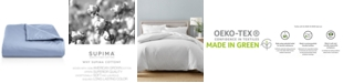 Charter Club   CLOSEOUT! Full/Queen Duvet Cover, 100% Supima Cotton 550 Thread Count, Created for Macy's