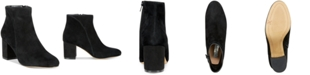 INC International Concepts INC Floriann Block-Heel Ankle Booties, Created for Macy's