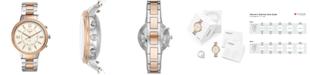 Fossil Q Women's Virginia Two-Tone Stainless Steel Bracelet Hybrid Smart Watch 36mm