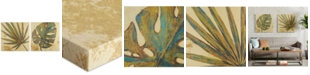 JLA Home INK+IVY Palm Grove Green 2-Pc. Linen Canvas Print Set
