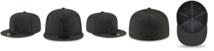 New Era Chicago White Sox Blackout 59FIFTY FITTED Cap