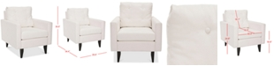 Safavieh Olden Accent Chair, Quick Ship