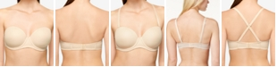 Wacoal Red Carpet Full Figure Underwire Strapless Bra 854119, Up To H Cup