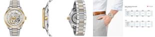 Bulova Men's Automatic Sutton Two-Tone Stainless Steel Bracelet Watch 43mm