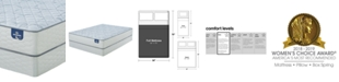 "Serta Sertapedic 12.25"" Cassaway Firm Mattress Set- Full"