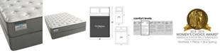 """Beautyrest BeautySleep 9.5"""" Alpine Valley Luxury Firm Mattress Set- Full"""