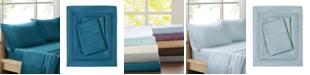 JLA Home Sleep Philosophy 300 Thread Count Liquid Cotton 4-PC King Sheet Set