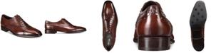 Roberto Cavalli Men's Cap-Toe Studded Oxfords
