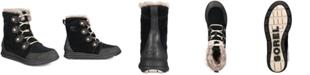 Sorel Women's Explorer Joan Lug Sole Waterproof Booties
