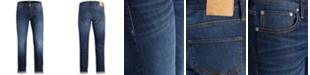 Jack & Jones Men's Slim Straight Fit Tim Jeans