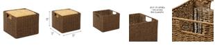 Honey Can Do Parchment Cord Storage Basket