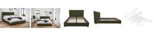 Ameriwood Home Novogratz Brittany Upholstered Full Bed
