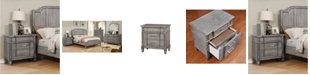 Furniture of America Elna Transitional Nightstand