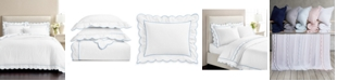 Martha Stewart Collection CLOSEOUT! Martha Stewart Signature Scallop Duvet Sets, Created for Macy's