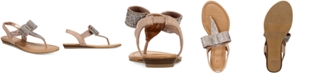 Material Girl Seana Flat Sandals, Created for Macy's