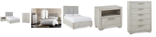 Furniture CLOSEOUT! Camilla Bedroom Furniture, 3-Pc. Set (King Bed, Nightstand & Chest), Created for Macy's