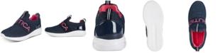 Nautica Little & Big Girls Canvey Mesh Slip-On Sneakers