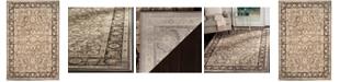 """Safavieh Vintage Taupe and Black 5'1"""" x 7'7"""" Area Rug"""