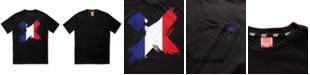 H4X Men's Flag Logo T-Shirt with Chest Pocket