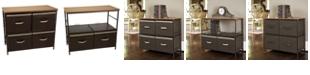 Household Essentials Bronze 2-Tier Storage Table