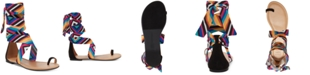 INC International Concepts I.N.C. Medria Toe-Thong Tie-Up Flat Sandals, Created for Macy's