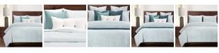Siscovers Heritage Mist Ticked Stripe Farmhouse 6 Piece Queen Luxury Duvet Set