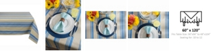 "Design Import Table cloth Sailor Stripe 60"" X 120"""
