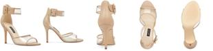 Nine West Mila Vinyl Dress Sandals