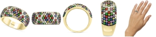 EFFY Collection EFFY® Multi-Sapphire (1-3/4 ct. t.w.) & Diamond (1/2 ct. t.w.) Ring in 14k Gold