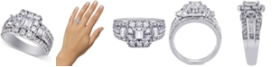 Macy's Diamond Bridal Ring (3 ct. t.w.) in 14k White Gold