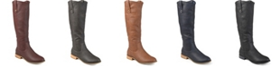 Journee Collection Women's Extra Wide Calf Taven Boot