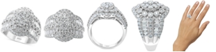 EFFY Collection EFFY® Diamond Cluster Statement Ring (2-1/6 ct. t.w.) in 14k White Gold