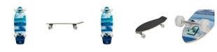 "Kryptonics 30.5"" Super Fat Cruiser ""Blue-Fish"" Skateboard"