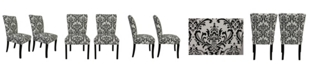 Sole Designs Julia Traditional Dining Chair Set, Set of 2