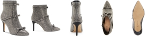INC International Concepts INC Women's Isauria Bow Bling Booties, Created for Macy's