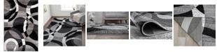 "Main Street Rugs Montane Mon105 Gray 5'3"" x 7'3"" Area Rug"