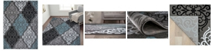 "Main Street Rugs Home Montane Mon111 Gray 7'10"" x 10'2"" Area Rug"