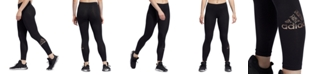 adidas Women's Metallic Logo Leggings