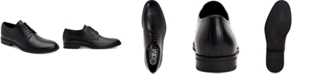 Calvin Klein Men's Wilbur Crust Leather Oxfords