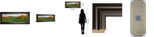 "Classy Art Jenne Farm by Shelley Lake Framed Print Wall Art, 18"" x 42"""