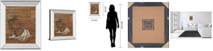 "Classy Art Maya by Saro Mirror Framed Print Wall Art, 22"" x 26"""