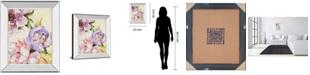 "Classy Art Modern Romance II by Patricia Pinto Mirror Framed Print Wall Art, 22"" x 26"""
