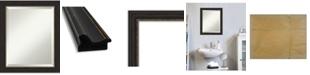 "Amanti Art Accent Framed Bathroom Vanity Wall Mirror, 19.5"" x 23.50"""