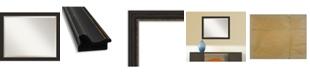 "Amanti Art Accent Framed Bathroom Vanity Wall Mirror, 31.5"" x 25.50"""