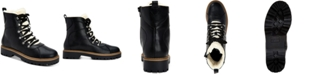 Style & Co Morggan Lace-Up Combat Booties, Created for Macy's