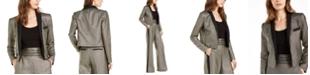Rachel Zoe Cher Metallic-Striped Jacket