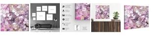 "Oliver Gal Crystal Romance Canvas Art, 16"" x 16"""