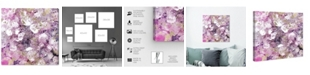 "Oliver Gal Crystal Romance Canvas Art, 24"" x 24"""