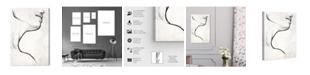 """Oliver Gal White Contour Canvas Art, 10"""" x 15"""""""
